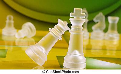 schack, mynter