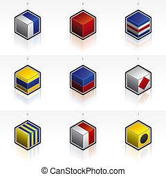 schaduwen, af)knippen, set, iconen, it\\\'s, beeld, underneath., -, vlaggen, maritiem, ongewenst, hoog, communie, ontwerp, verwijderen, gemakkelijk, steegjes, internationaal, resolutie, signaal, 58g