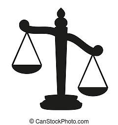 schalen, justitie