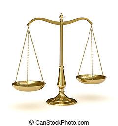 schalen van gerechtigheid