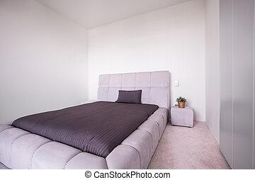 Bett Groß groß bett schalfzimmer groß ansicht bett senkrecht