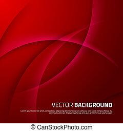 schatten, abstrakt, roter hintergrund