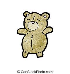 schattig, beer, teddy