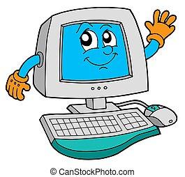 schattig, computer