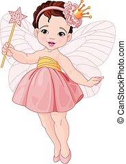 schattig, elfje, ballerina
