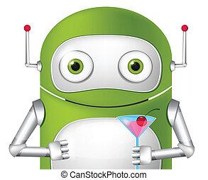 schattig, robot