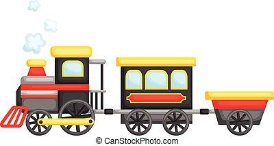schattig, trein
