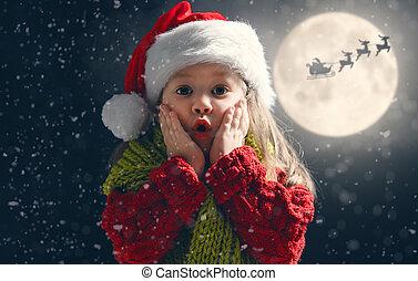 schattig, weinig; niet zo(veel), kerstmis, kind