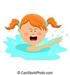 schattig, weinig; niet zo(veel), zwemmen, helpen, roepende,...