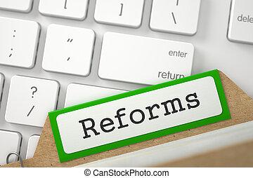 scheda, 3d., file, reforms.