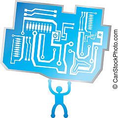 scheda circuito