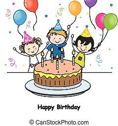 scheda compleanno