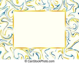 Cornice Sfondi Marmo Oro Clipart Vettoriale Csp22887667