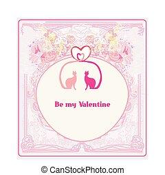 scheda, valentina, amore, gatti