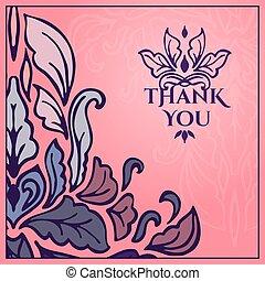 scheda, you., ringraziare, vendemmia, iscrizione