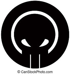 schedel, logo
