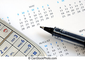 Schedule the appointment and mark it on the calendar