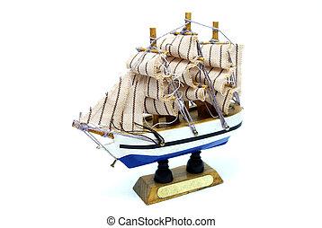 scheeps , fregat, model