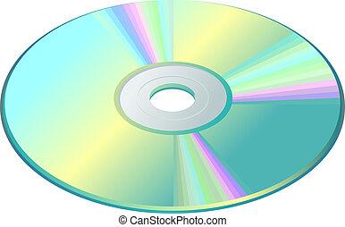 scheibe, cd-dvd-blu-ray
