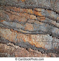 scheibe, von, stein, steinen, geologisch, hintergrund
