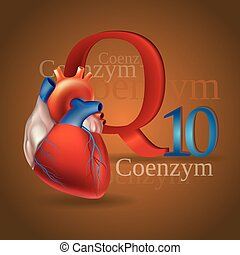 Coenzyme Q10 - Schematic representation of Coenzyme Q10 -...