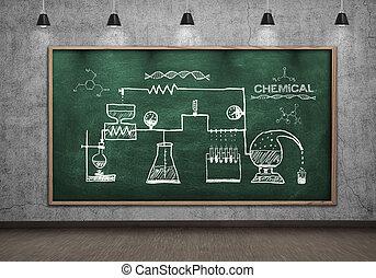 scheme chemical reaction