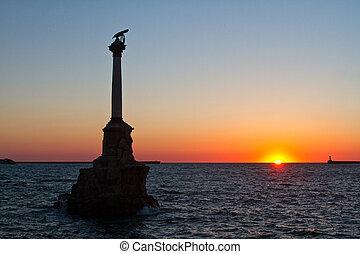 schepen, monument, scuttled