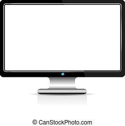 scherm, computer