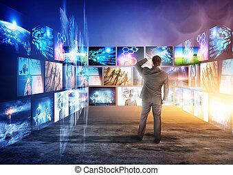 schermi, informazioni