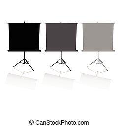 schermi, tre, film
