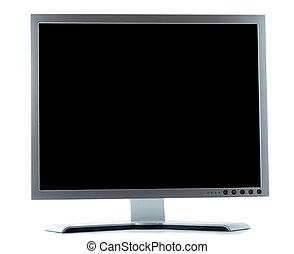 schermo, computer, desktop
