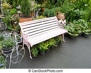 schermo, parco, giardino