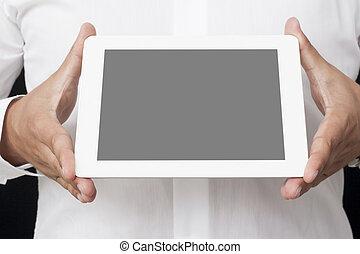 schermo, tavoletta, digitale