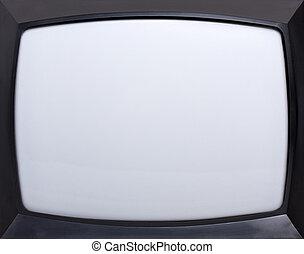 schermo, televisione, retro