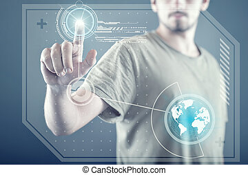 schermo tocco, tecnologia