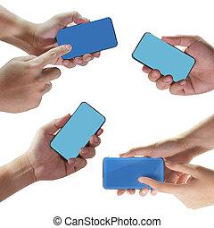 schermo tocco, telefono mobile