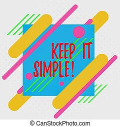 schets, iets, design., gevormd, asymmetrisch, vragen, simple...