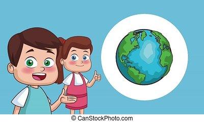 schhol, kids, анимация, hd
