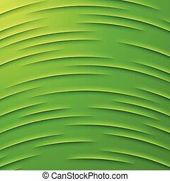 schichten, abstrakt, vektor, grüner hintergrund