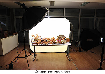 schietende , studio foto