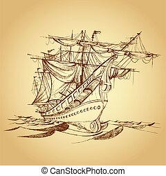 schiff, historische