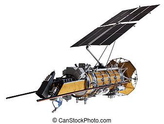schiff, satellite/space