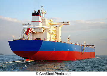 schiff, tanker