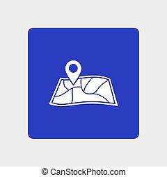 schifffahrt, zeichen, icon.