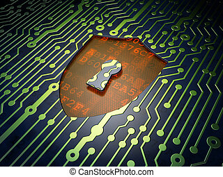 schild, achtergrond, veiligheid, plank, circuit, keyhole,...