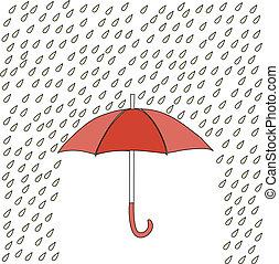 schirm, regen