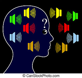 Schizophrenic person may hear voices other people do not hear and get paranoid