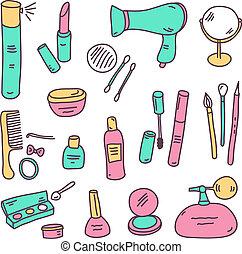 schizzo, cosmetica