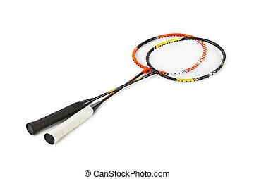 schläger, badminton