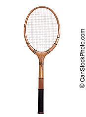 schläger, tennis, altes